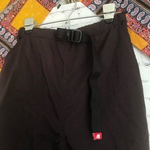 Brown north face utility pants
